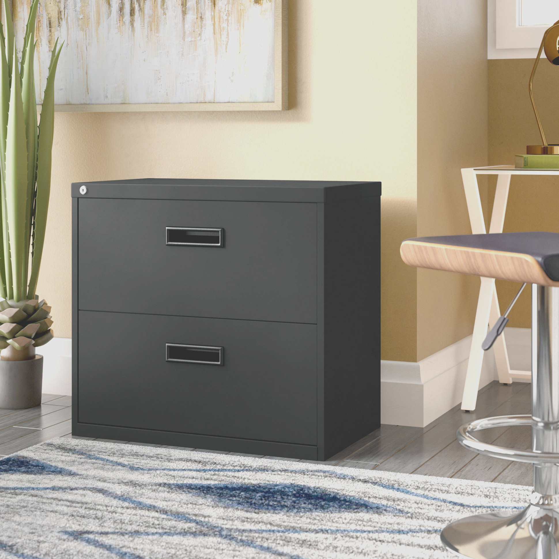 Walt 1 Drawer Lateral Filing Cabinet